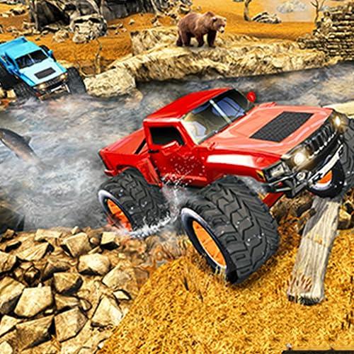Offroad Monster Truck Hill Adventure