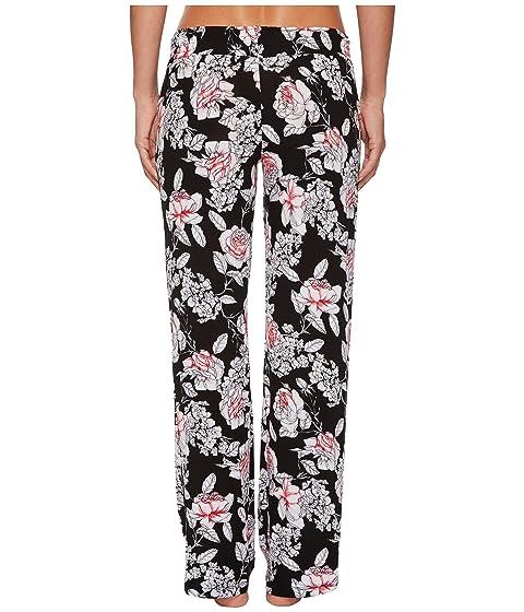 'N P Floral Negro Salvage Rose Rock Pantalones J qOx1OtrH