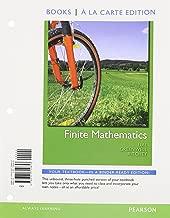 Finite Mathematics, Books a la Carte Plus MML/MSL Student Access Code Card (for ad hoc valuepacks) (10th Edition)