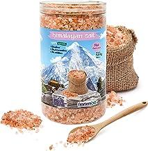 Nortembio Sal Rosa del Himalaya 1,5 Kg. Gruesa (2-5 mm). 100% Natural. Sin Refinar. Sin Conservantes. Extraída a Mano.