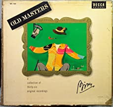 BING CROSBY OLD MASTERS vinyl record