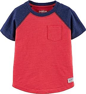 Baby Boys' Toddler Short Sleeve Raglan Shirt
