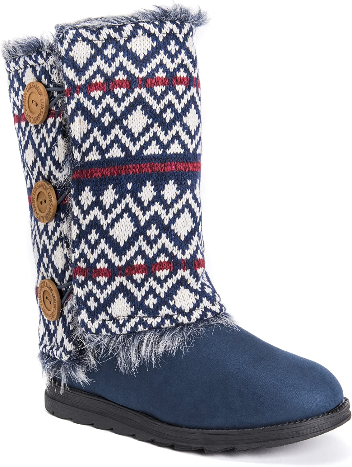 MUK LUKS Women's Reversible Andrea Fashion Boot