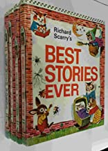 Richard Scarry's Look & Learn Library 4 Volumes