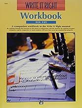 Write It Right!: Workbook