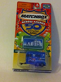 Matchbox Across America 50th Birthday Series Kentucky Pony Trailer