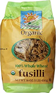 Bionaturae Organic Pasta, Whole Wheat Fusilli, 16 Oz