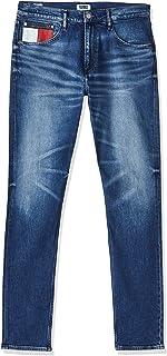 بنطال جينز CLSHM رجالي متعدد الاستخدامات مريح موديل 1988 من تومي هيلفيغر
