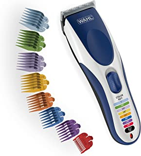 Wahl Color Pro Cordless Rechargeable Hair Clipper & Trimmer – Easy Color-Coded..