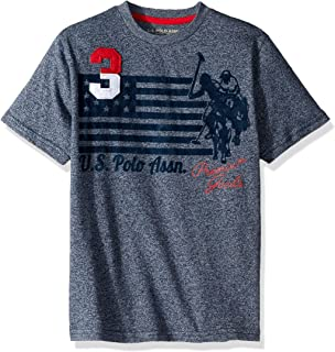 U.S. Polo Assn. Boys' Short Sleeve Graphic T-Shirt