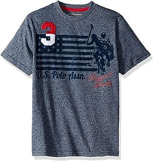 U.S. Polo Assn. Boys' Short Sleeve Graphic T-Shirt