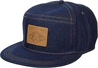 قبعة بيسبول من الجينز والقطن من تيمبرلاند