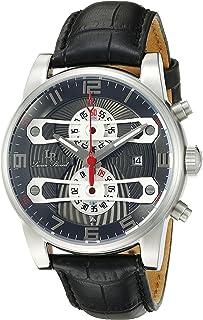 [ルシアンピカール] Lucien Piccard 腕時計 Men's Bosporus Analog Display Quartz Black Watch クォーツ LP-40045-014 メンズ 【並行輸入品】