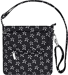 Anti-Theft Classic Mini Shoulder Bag (A B/W SMALL FLOWER...