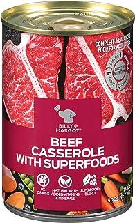 BILLY+MARGOT Beef Casserole with Superfoods Grain Free Wet Dog Food 14.1oz