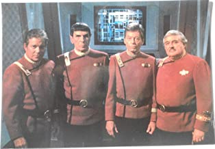 Star Trek 6 The Undiscovered Country Cast Postcard