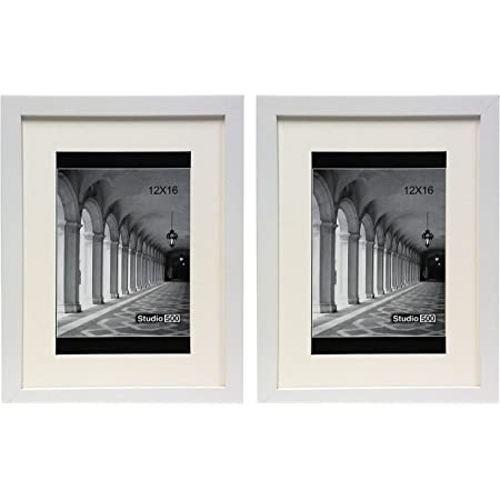 Studio 500 VALUE 2-PACK~16x20 Smooth Black Contemporary Picture Frame Set!