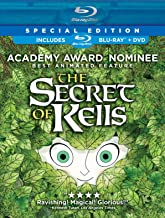 The secret of Kells (Blu-ray) Cover Art