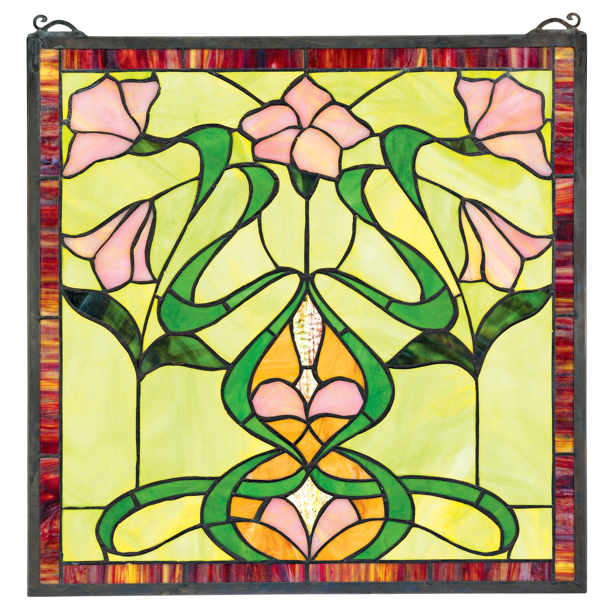 Lily Stained Glass Pattern Patterns Gallery