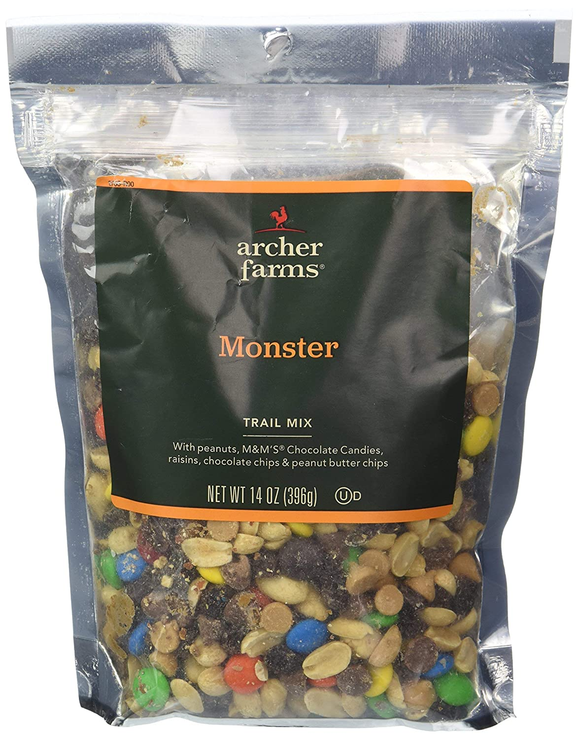 2 Bags Archer Farms Monster Trail Mix OF PACK Credence - 3 Charlotte Mall