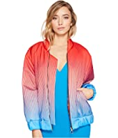 Kitty Joseph - Satin Bomber Jacket