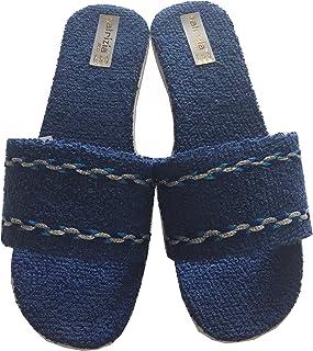 comprare a buon mercato economico in vendita nuova collezione Arus 2 Paia Pantofole/Ciabatte da Bagno Uomo in Spugna Taglia ...