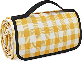 Beach blankets, picnic blankets, double-layer waterproof and sand-proof, machine washable large picnic mats and beach mats...