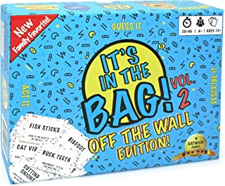 It's in The Bag! – Party Game Will Have You Laughing Hysterically – Like Charades on Steroids for Family and Adults – Easy to Learn Team Game for Groups (Party Edition)