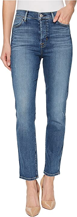 Hudson - Holly High-Rise Crop Skinny Jeans in Babyface