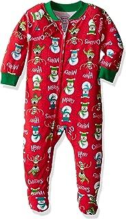 Sara's Prints Baby Girls' Soft Footed Pajamas