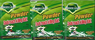 Green Leaf polvo anti cucaracha muy potente lote de 3 sobres