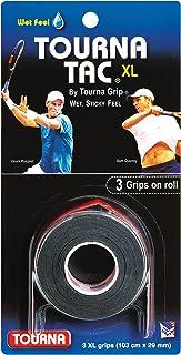 Tourna Grip Tac Unisex Adult 3Pack of 3, Black
