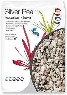 Pisces 4lb Silver Pearl Aquarium Gravel, Small