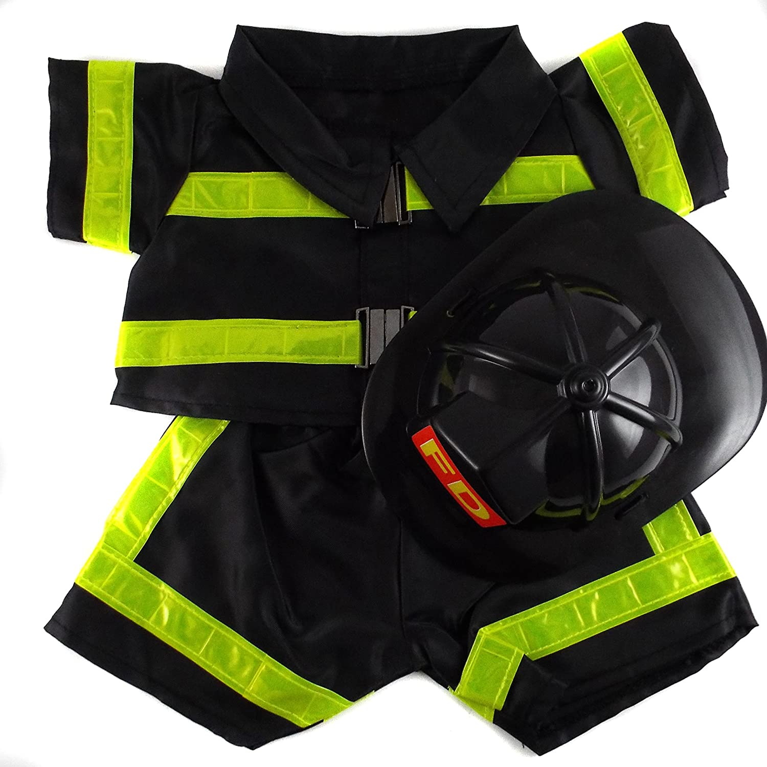 calidad fantástica Fireman Fireman Fireman Outfit Teddy Bear Clothes Fit 14  - 18  Build-a-bear, Vermont Teddy Bears, and Make Your Own Stuffed Animals by Bear Factory  Tu satisfacción es nuestro objetivo
