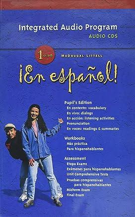 Amazon com: mcdougal littell spanish 2 - Audio CD: Books