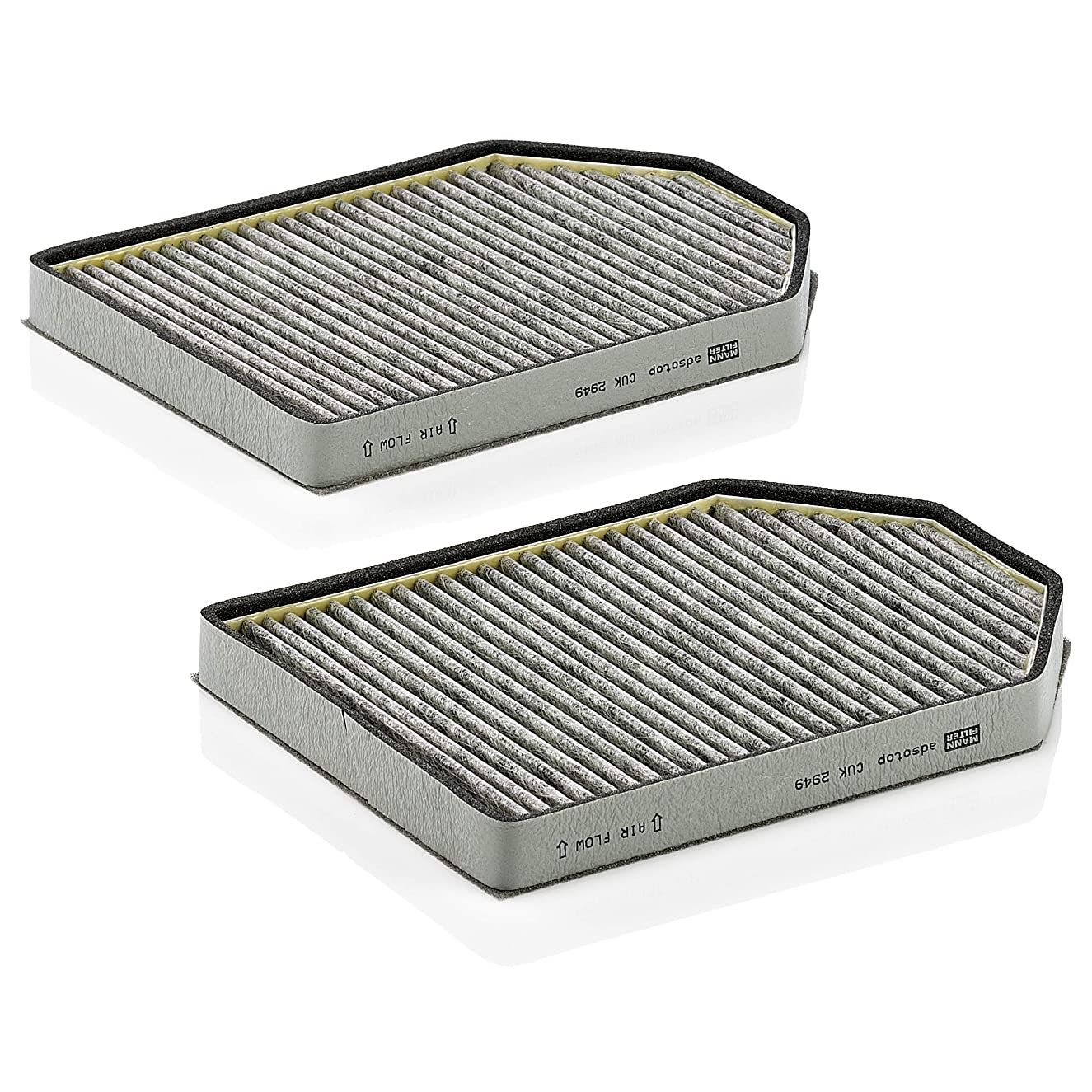 Mann-Filter CUK 2949-2 Cabin Air Filter with Activagted Charcoal