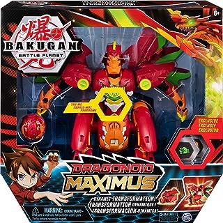 Bakugan Dragonoid Maximus, 20 cm wielkości przekształcana figurka kolekcjonerska z efektami, zawiera ekskluzywny Titan Dra...