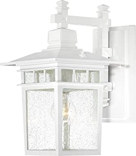 Nuvo Lighting 60 4957 One Light Fixture Outdoor Wall Mount, 14 , White
