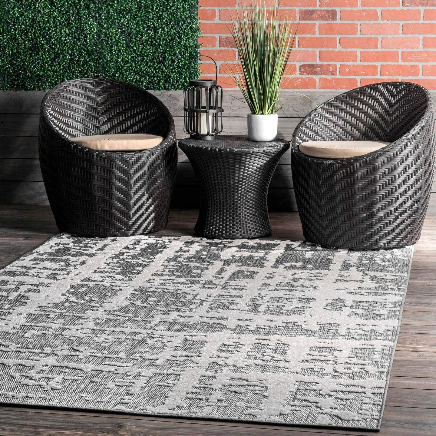 nuLOOM Adley Textured Abstract Ranking TOP2 Lines Indoor Rug Runner Outdoor Genuine Free Shipping