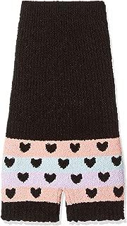 rosemadame 长款保暖裤日本制造 (心形花纹) 116–7871–01 黑 M-L