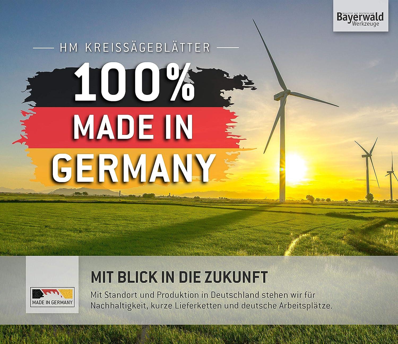 Bayerwald Werkzeuge HM Kreiss/ägeblatt Wechselzahn 34 Z/ähne 216 x 2.6//1.6 x 30 | F/ür Bosch GTS 635-216