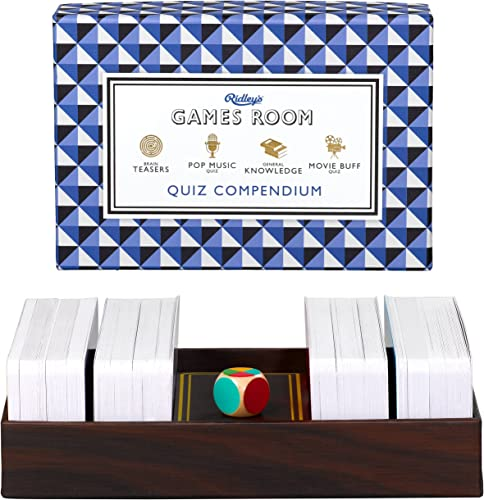 Ridley's Games Room   Quiz Compendium   Four different quiz topics