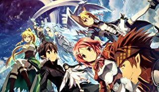 Sword Art Online PLAYMAT CUSTOM PLAY MAT ANIME PLAYMAT #116