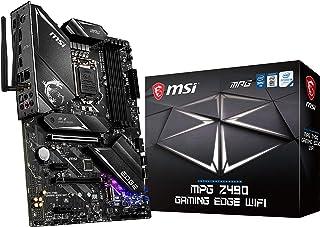 MSI - MPG Z490 Gaming Edge Wifi - Placa Base Performance Gaming (10th Gen Intel Core, LGA 1200 Socket, DDR4, CF, Doble M.2...