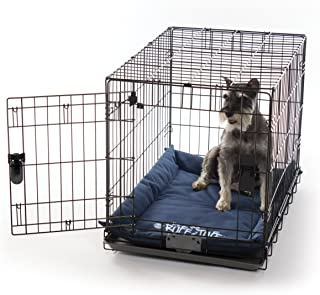 K&H Pet Products K-9 Ruff n' Tuff Crate Pad - 1260 Denier Rip-Stop Polyester for Pets That Need Extra Tough Fabric