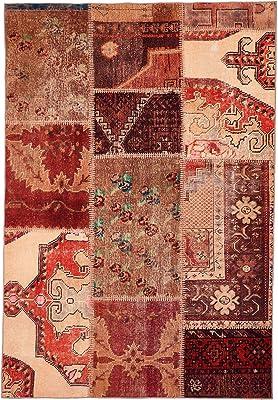 Homemania Tapis Imprimé Sewn Impression Multicolore Coton Polyester 120 x 180 cm