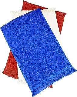 (12 Pack) 1 Dozen- Economical Fingertip Velour/Terry Towels