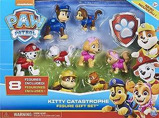 Paw Patrol Set Figura Cachorros con Gatitos, Multicolor