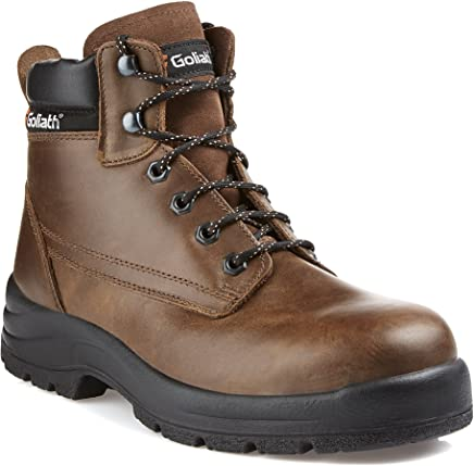 Goliath Contractor S3 Safety Boot � Brown : boots