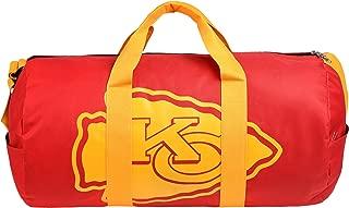 Kansas City Chiefs Vessel Barrel Duffle Bag